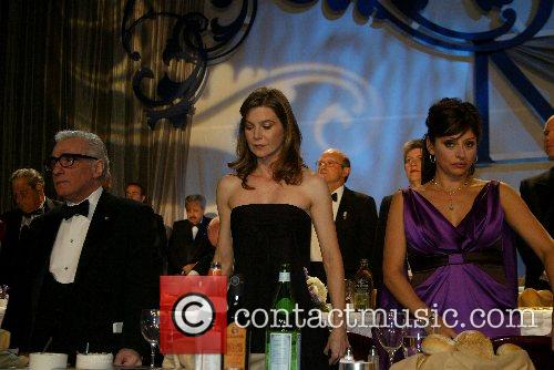 Martin Scorcese, Ellen Pompeo and Maria Bartiromo The...
