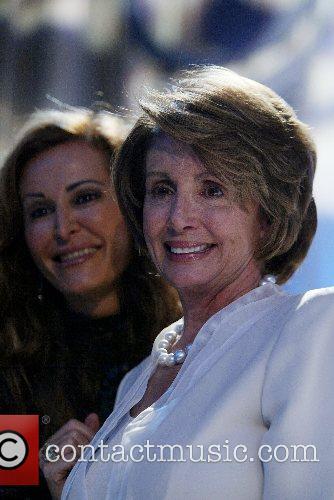 Nancy Pelosi and guest The 32nd Annual NIAF...