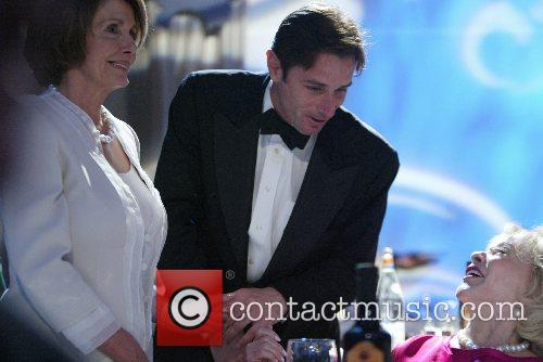 Nancy Pelosi and son with Margret Valenti The...