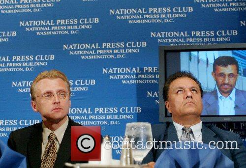 Jerry Zremski and Dr. Kabeh Asrasiabi The National...