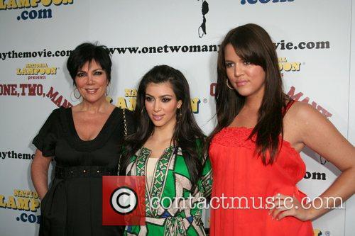 Kris Jenner, Kim Kardashian and Khloe Kardashian National...