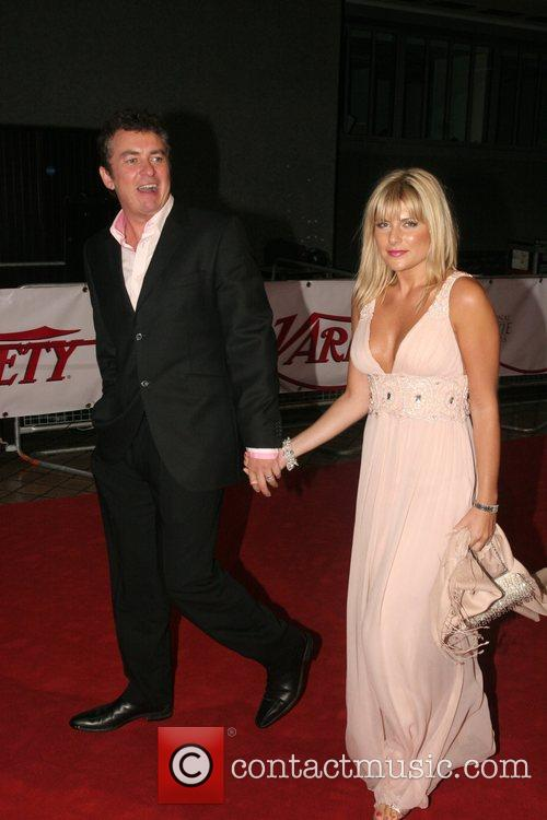 Shane Richie and guest National Movie Awards held...