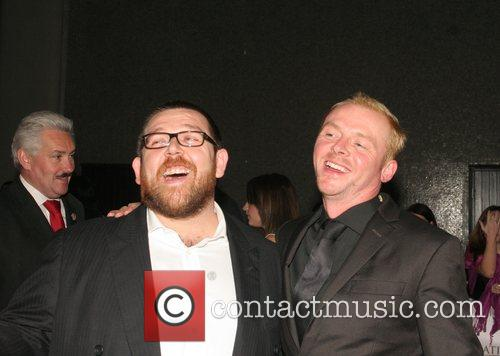 Nick Frost, Simon Pegg, Royal Festival Hall