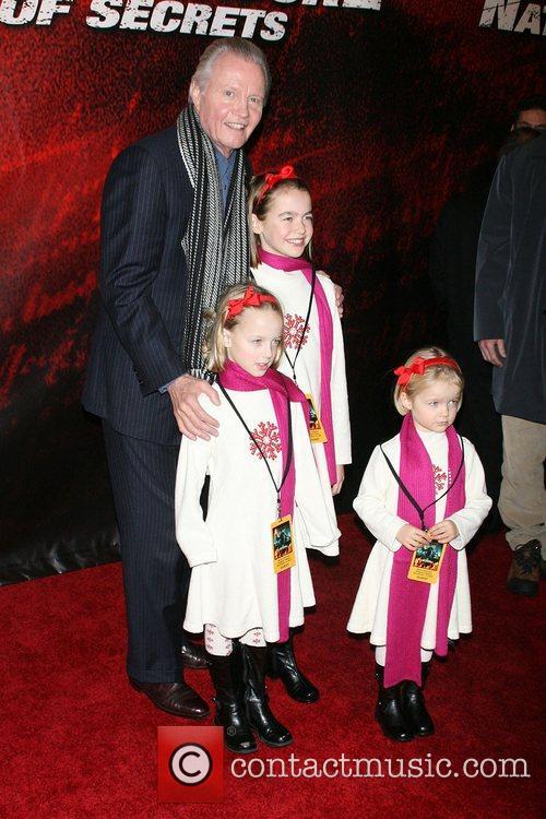 Jon Voight World Premiere of 'National Treasure: Book...