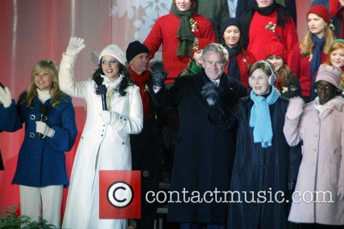 Sara Evans and George W Bush 6