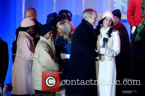 Sara Evans and George W Bush 3