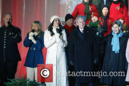 Sara Evans and George W Bush 10