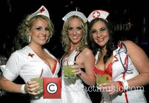 Las Vegas nurses get together and have a...