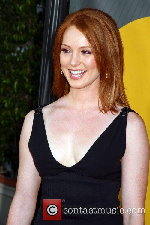 Alicia Witt NBC All-Star party at the Beverly...