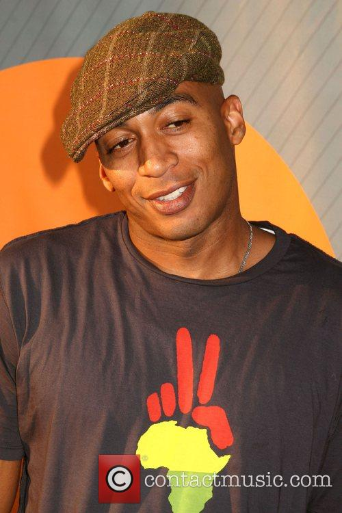 James Lesure NBC All-Star party at the Beverly...