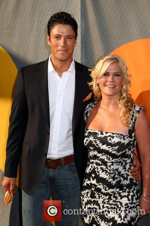James Scott and Alison Sweeney NBC All-Star party...