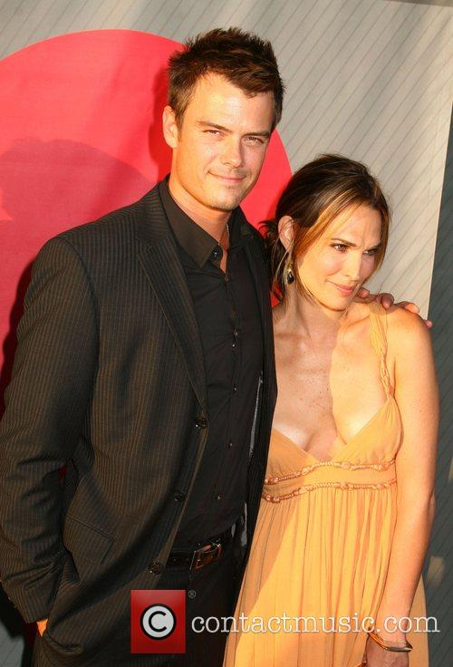 Josh Duhamel and Molly Sims NBC All-Star party...
