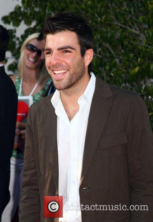 Zachary Quinto NBC All-Star party at the Beverly...