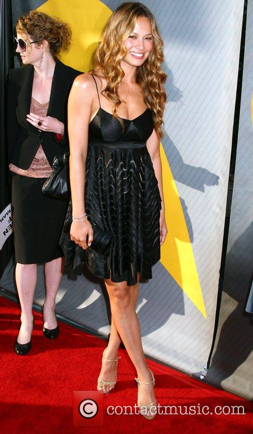 Moon Bloodgood NBC All-Star party at the Beverly...