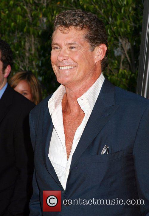 David Hasselhoff, Beverly Hilton Hotel