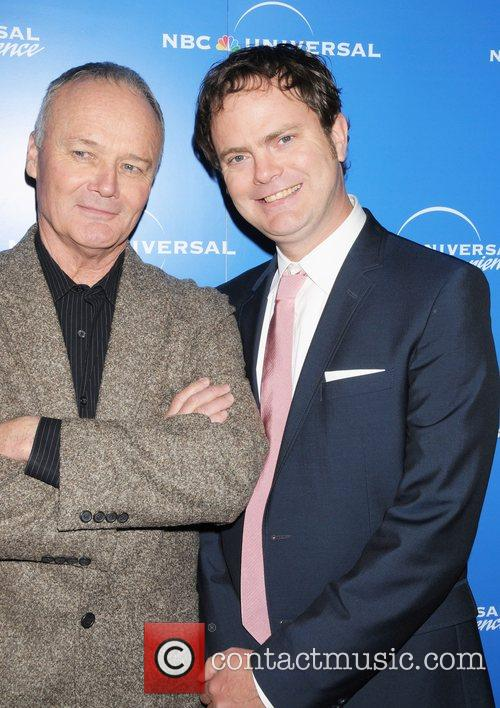 Creed Bratton and Rainn Wilson The NBC Universal...