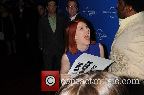 Kate Flannery and Craig Robinson The NBC Universal...