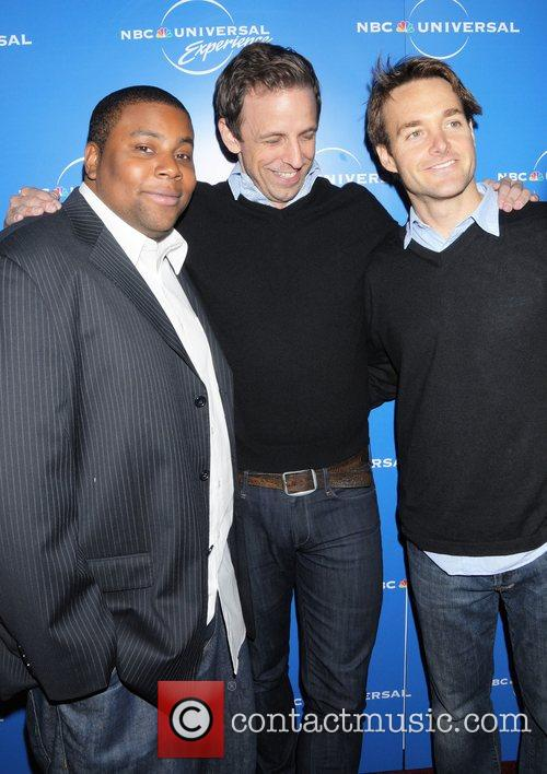 Kenan Thompson, Seth Meyers and Will Forte The...