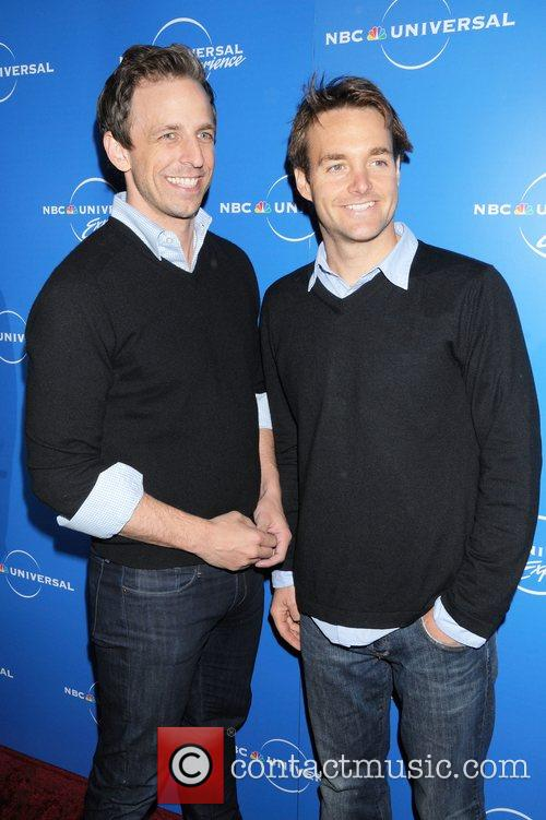 Seth Meyers and Will Forte The NBC Universal...