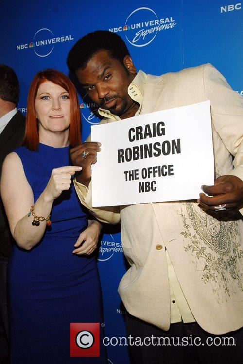 Kate Flannery, Craig Robinson The NBC Universal Experience...