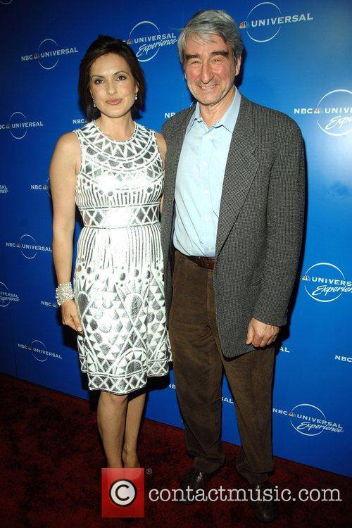 Mariska Hargitay, Sam Waterson The NBC Universal Experience...