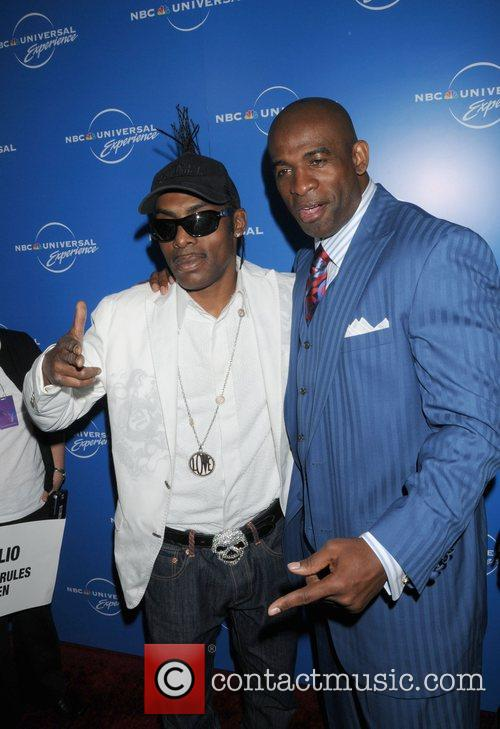 Coolio and Deion Sanders The NBC Universal Experience...