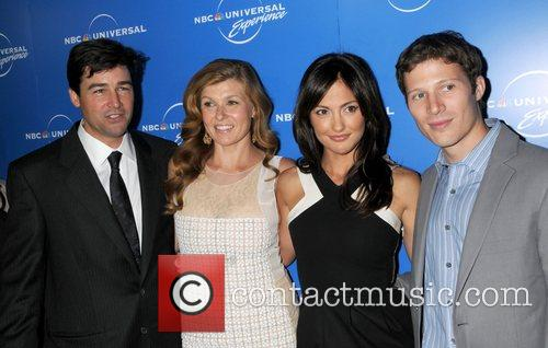 Kyle Chandler, Connie Britton, Minka Kelly and guest...