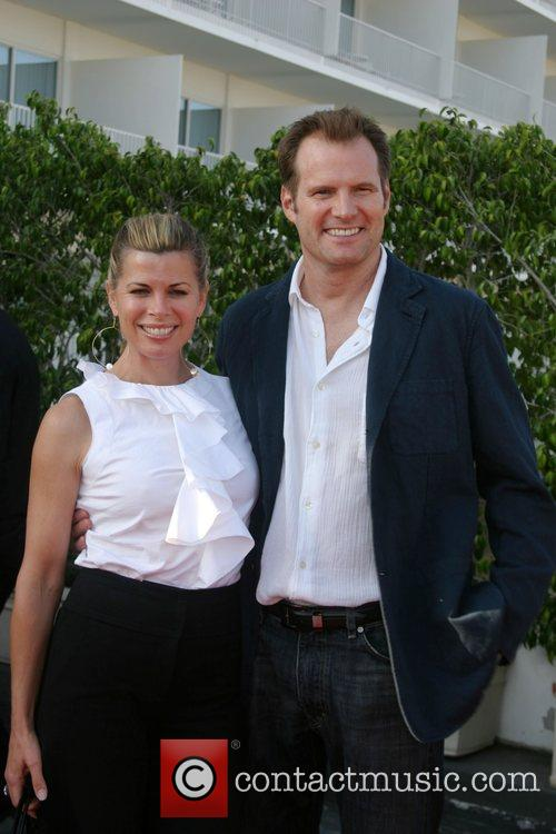 Beth Toussain and Jack Coleman NBC All-Star party...