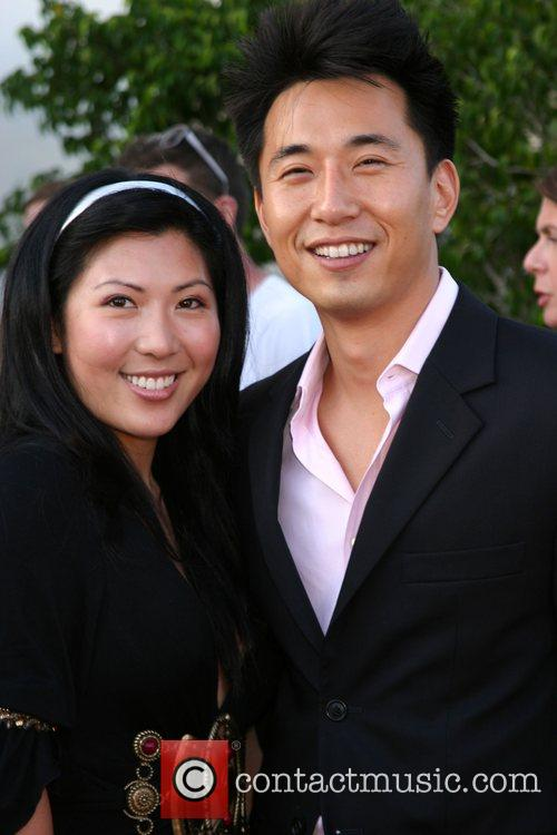 James Kyson Lee and guest NBC All-Star party...