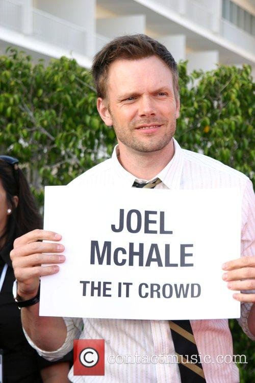 Joel McHale NBC All-Star party at the Beverly...
