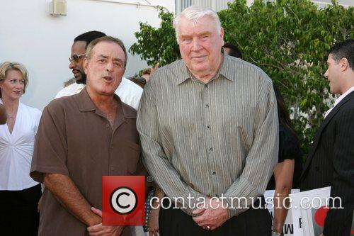 Al Michaels and John Madden NBC All-Star party...