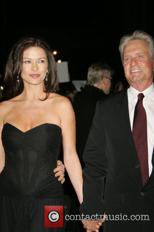 Catherine Zeta-Jones and Michael Douglas 2008 National Board...