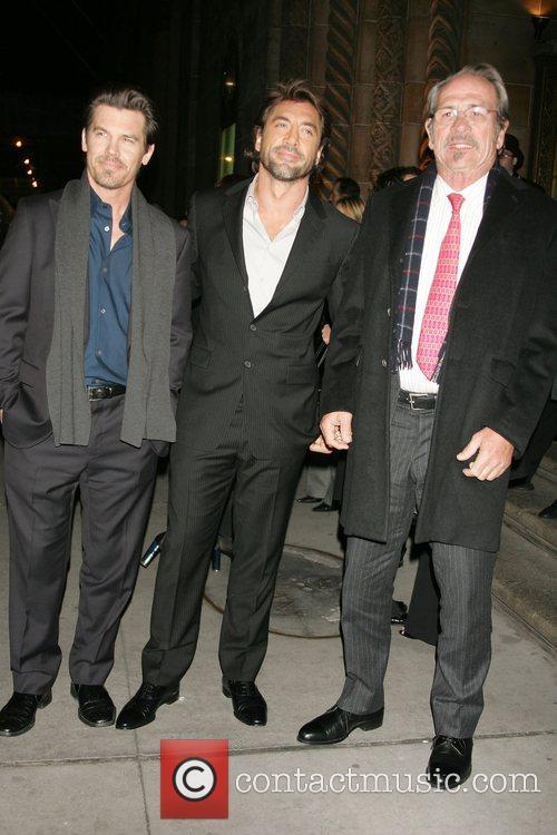Josh Brolin, Javier Bardem, Tommy Lee Jones 2008...