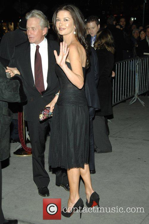 Michael Douglas, Catherine Zeta Jones 2008 National Board...