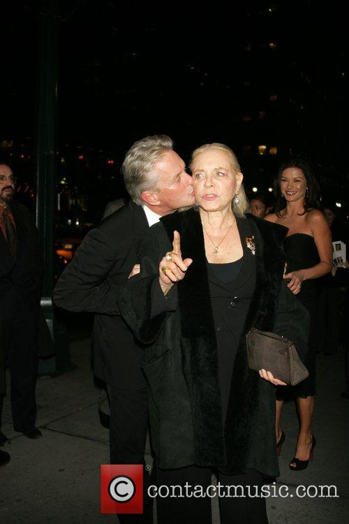 Lauren Bacall and Michael Douglas 3