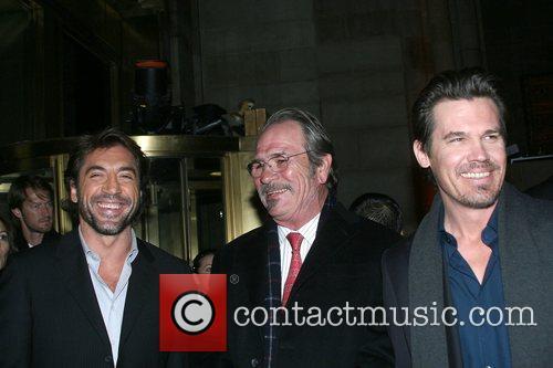 Javier Bardem, Tommy Lee Jones, Josh Brolin 2008...