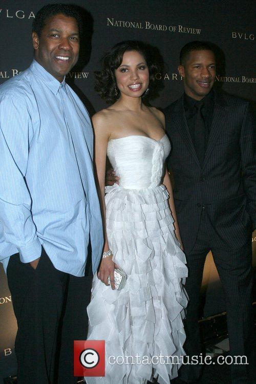 Denzel Washington, Jurnee Smollett, Nate Parker 2008 National...