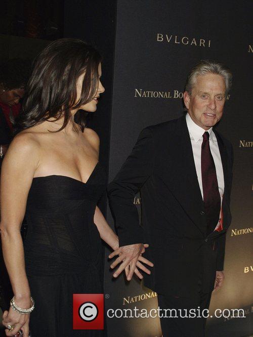 Catherine Zeta Jones and Michael Douglas 2008 National...