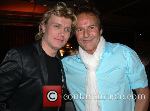 Hans Klok and his boyfriend Frank Gutteling 1