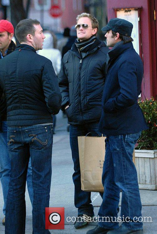 Neil Patrick Harris shopping in the West Village...
