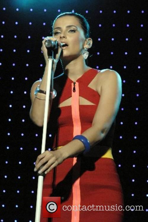 Nelly Furtado  performing at the Greek Theatre...