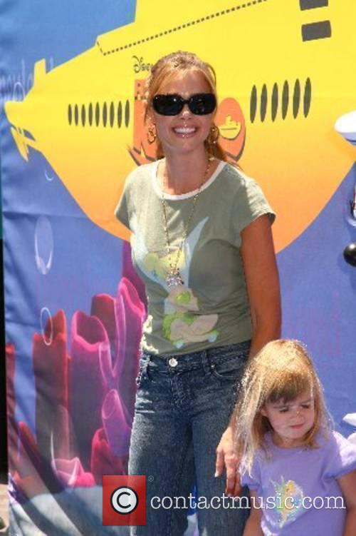 Denise Richards and daughter Sam  Finding Nemo...