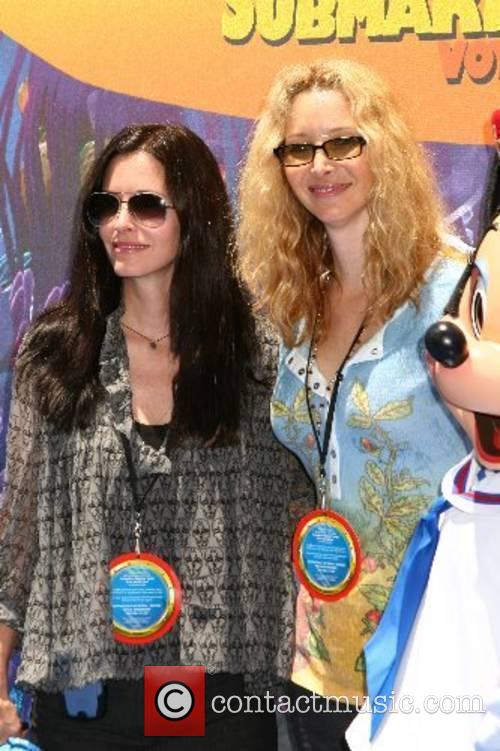 Courteney Cox and Lisa Kudrow  Finding Nemo...