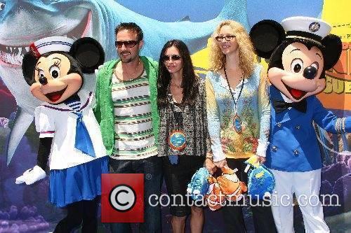 David Arquette, Courteney Cox and Lisa Kudrow...