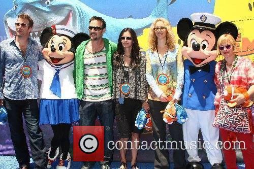 Left to Right:Thomas Jane, David Arquette, Courtney Cox,...