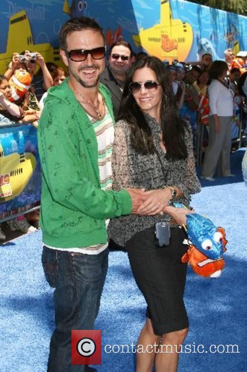Courteney Cox and David Arquette Finding Nemo Submarine...