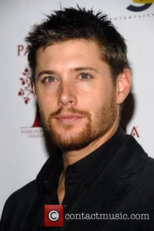 Jensen Ackles celebrating the Network TV Upfronts at...