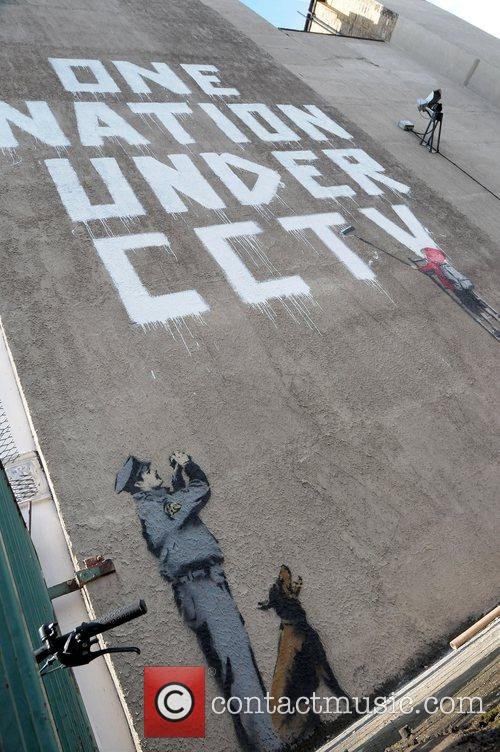 Banksy One Nation Under CCTV