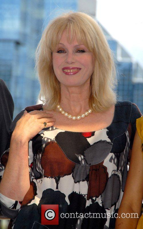 Joanna Lumley unveiling of the modern replica of...