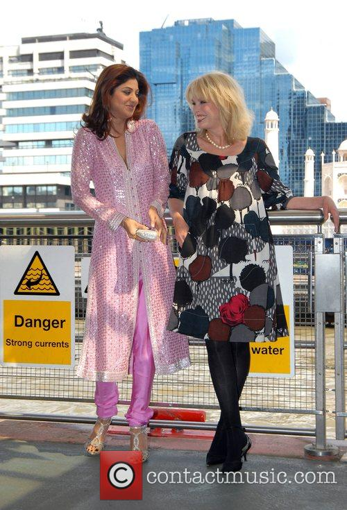 Shilpa Shetty and Joanna Lumley unveiling of the...